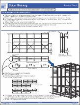 Spider® Shelving bracing chart