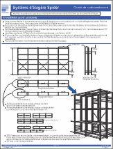 Spider® Shelving & Mini-racking bracing chart