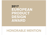 European Product Design Award 2017: Honorable Mention for our service advisor desk