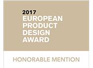 European Product Design Award 2017 : Mention honorable pour le poste d'aviseur technique