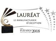 Pléiades 2018: Rousseau remporte le prix d'excellence de la catégorie Manufacturier d'exception