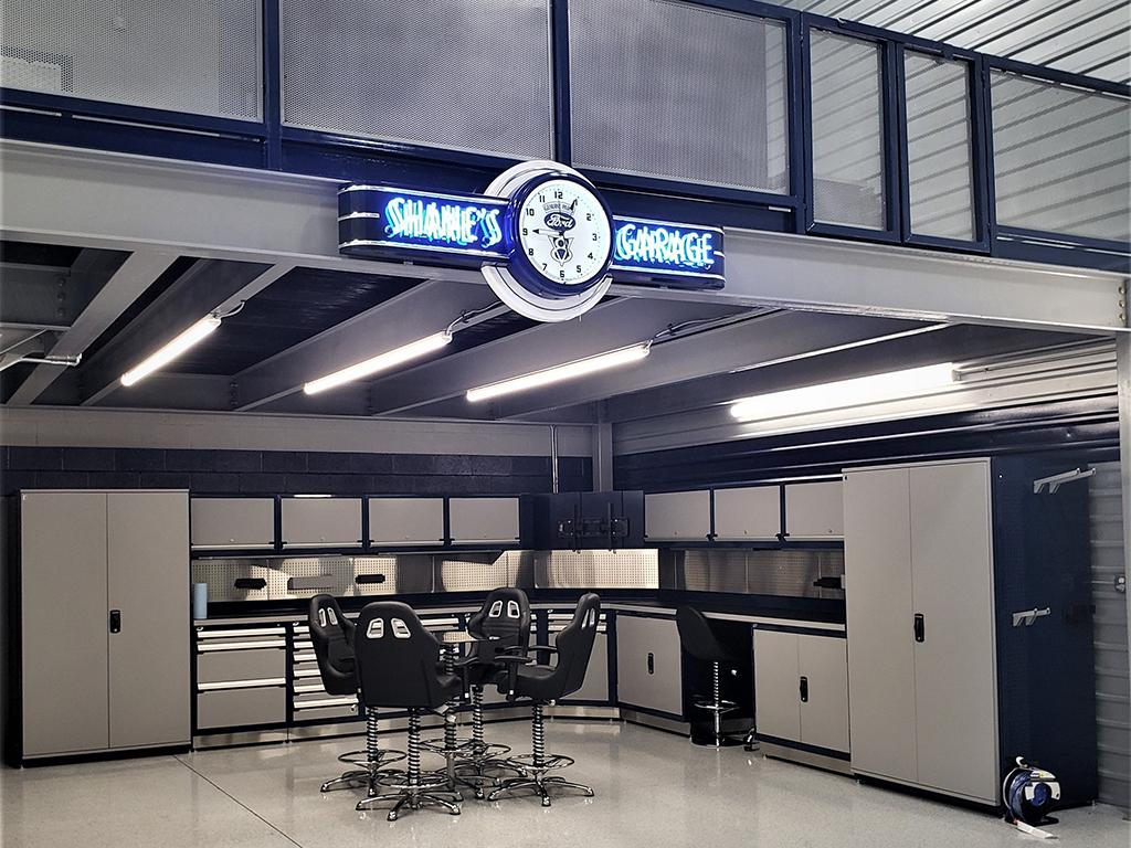 El garaje de sus sueños
