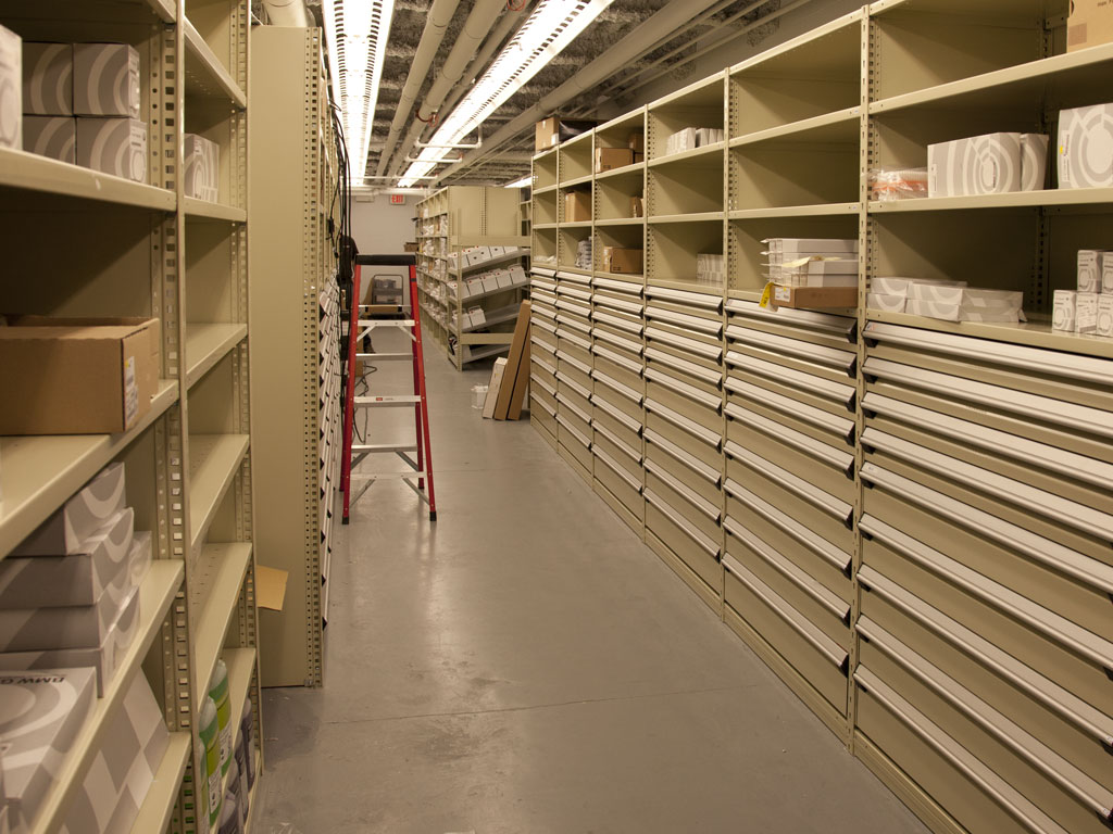 Small parts storage, BC