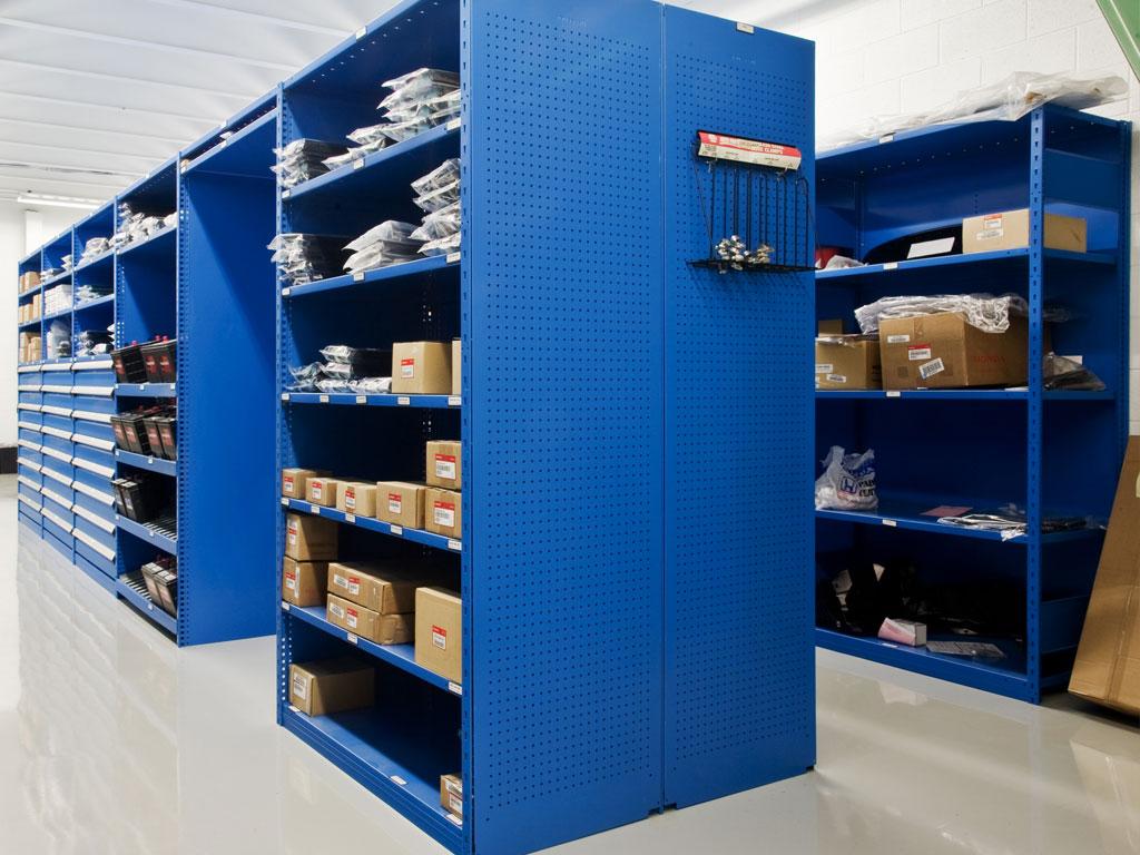 Medium-sized parts storage, NC