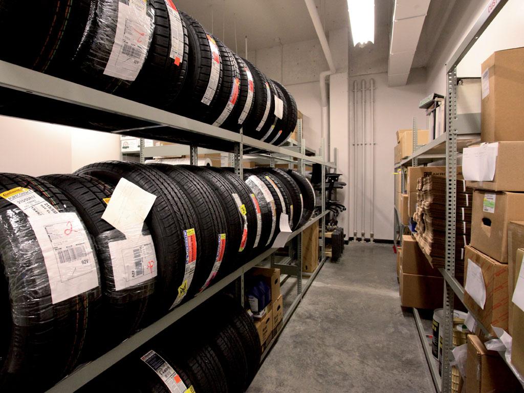 Tire storage, BC