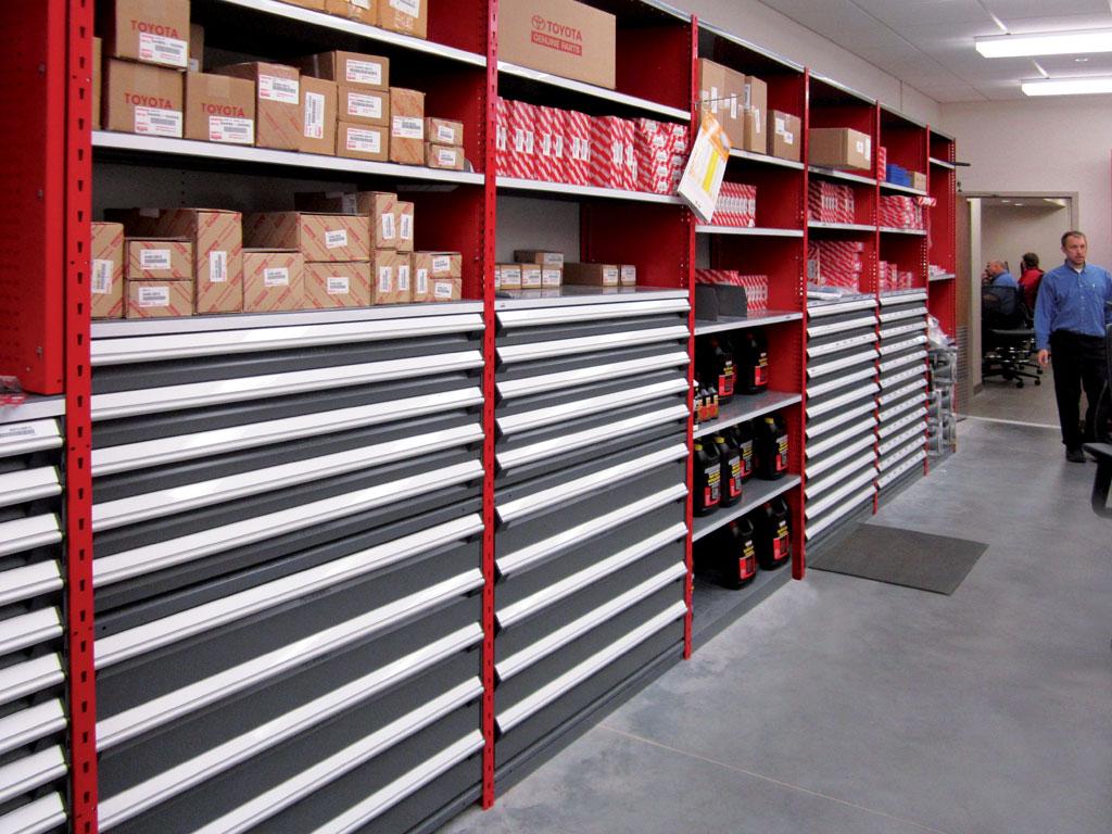 Small parts storage, MN