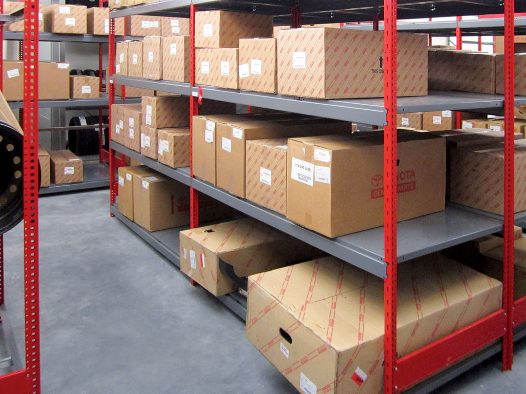 Large parts storage, MN