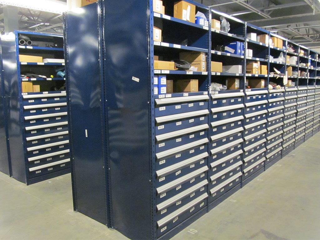 Small parts storage, TN