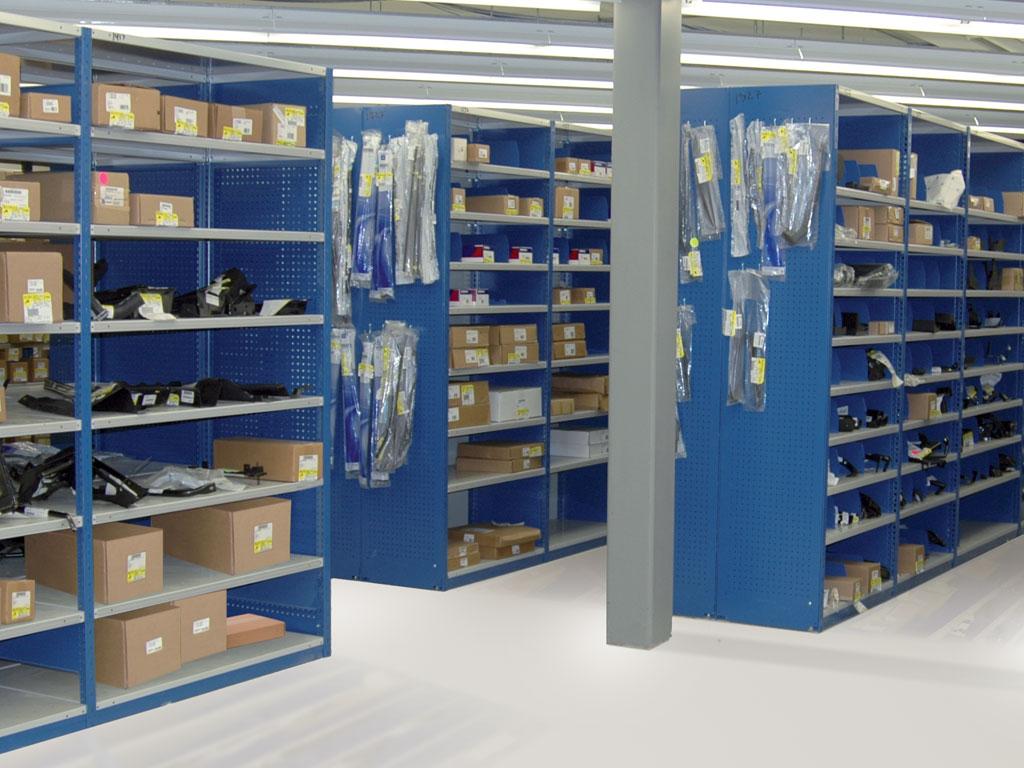 Medium-sized parts storage, MT