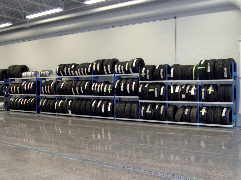 Tire storage, MT