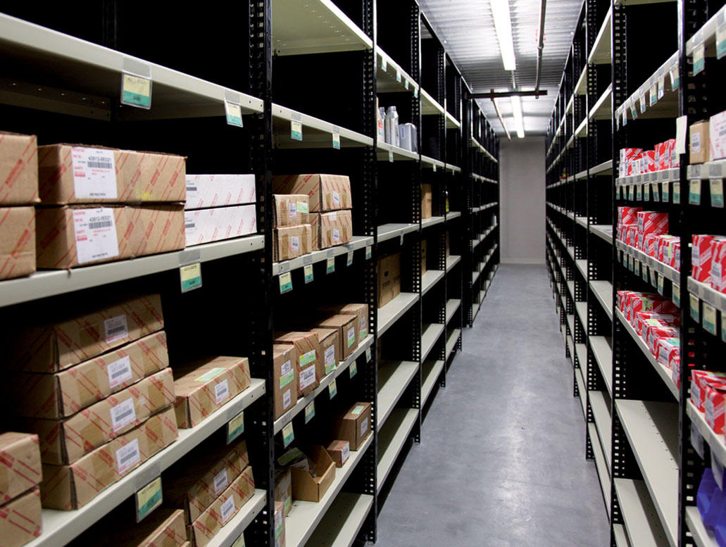 Small and medium-sized parts storage, BC