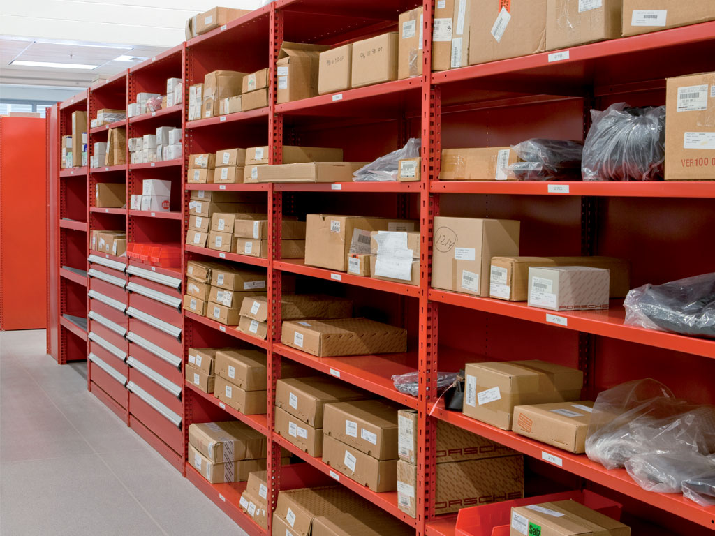 Small and medium-sized parts storage, PA
