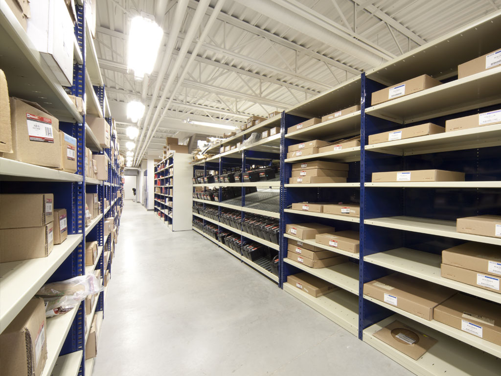 Medium-sized parts storage, AB