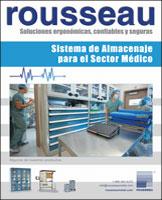 Sistema de almacenamiento para el sector médico