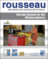 Storage System for the Mining Industry