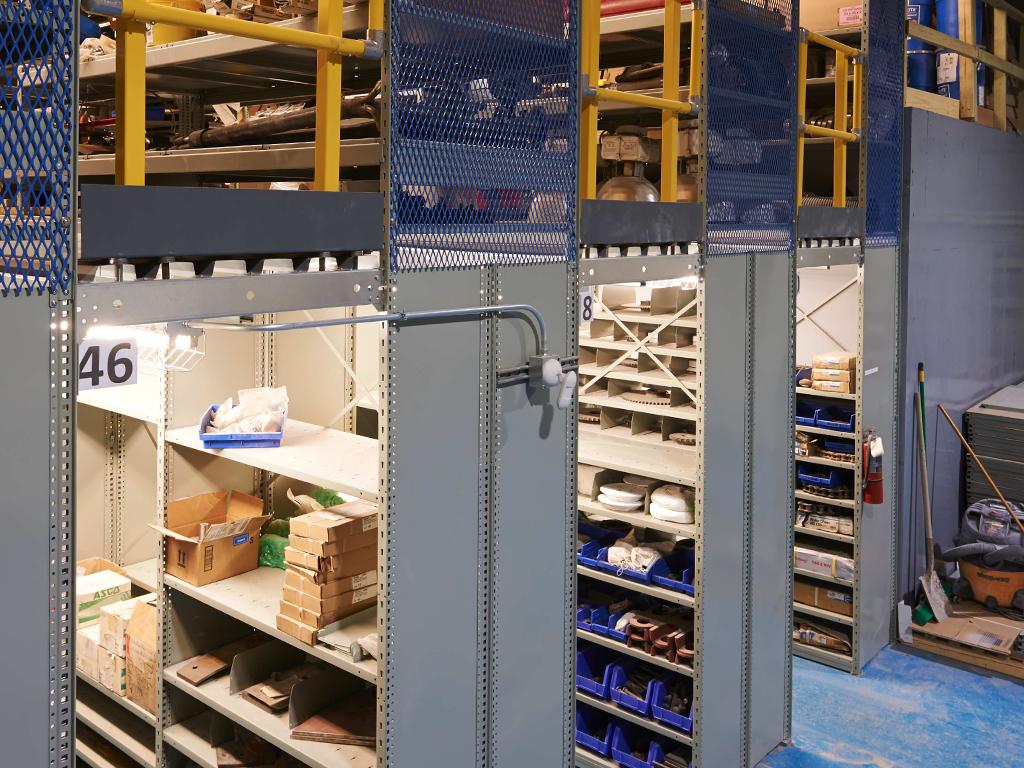 Multi-level Shelving Photo Gallery 2